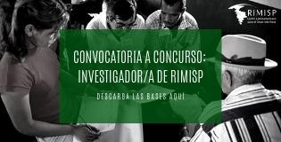 Convocatoria a Concurso: Investigador de Rimisp