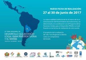 2° Foro Regional de Desarrollo Económico Local para América Latina y El Caribe