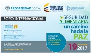 Foro Internacional sobre Seguridad Alimentaria un camino hacia la paz