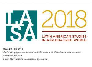 LASA2018: XXXVI Congreso Internacional de la Asociación de Estudios Latinoamericanos