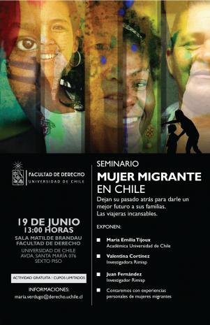 Seminario Mujer Migrante en Chile