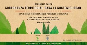 Seminario Taller – Gobernanza Territorial para la Sostentabilidad