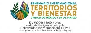 Seminario Internacional:Territorios y Bienestar