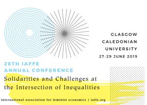 28 Congreso Anual – International Association for Feminist Economics en Glasgow