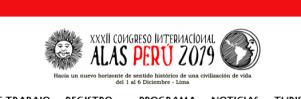 XXXII Congreso Internacional – Alas Perú 2019