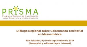 Diálogo Regional sobre Gobernanza Territorial en Mesoamérica