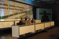 México: Sesión Comisión de Desarrollo Rural del Senado de la República y Foro de Análisis, Debate y Propuesta sobre el Nuevo Pacto Rural