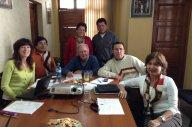 Reunión de trabajo del equipo técnico con la Coordinadora General del proyecto