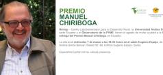 Entrega de Premio Manuel Chiriboga