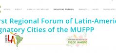 1er Foro Regional de las Ciudades Latinoamericanas Signatarias del Pacto de Milán